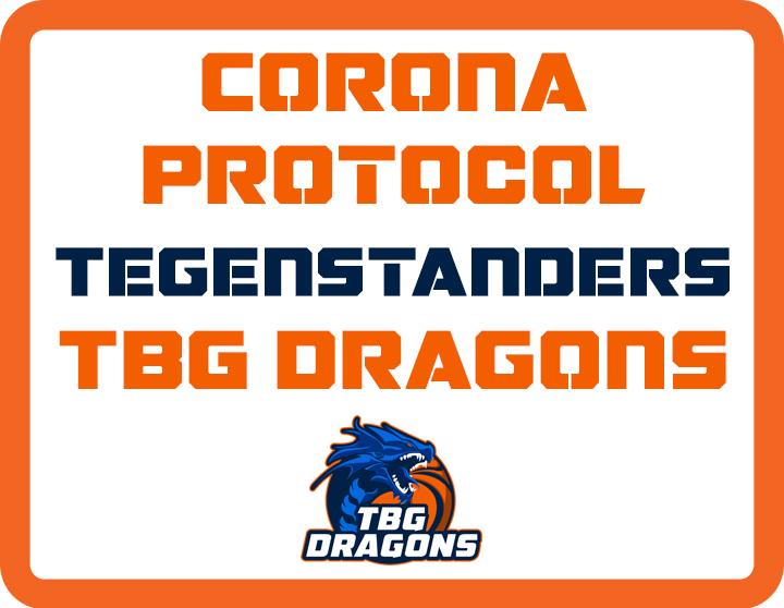 Coronaprotocol tegenstanders TBG Dragons