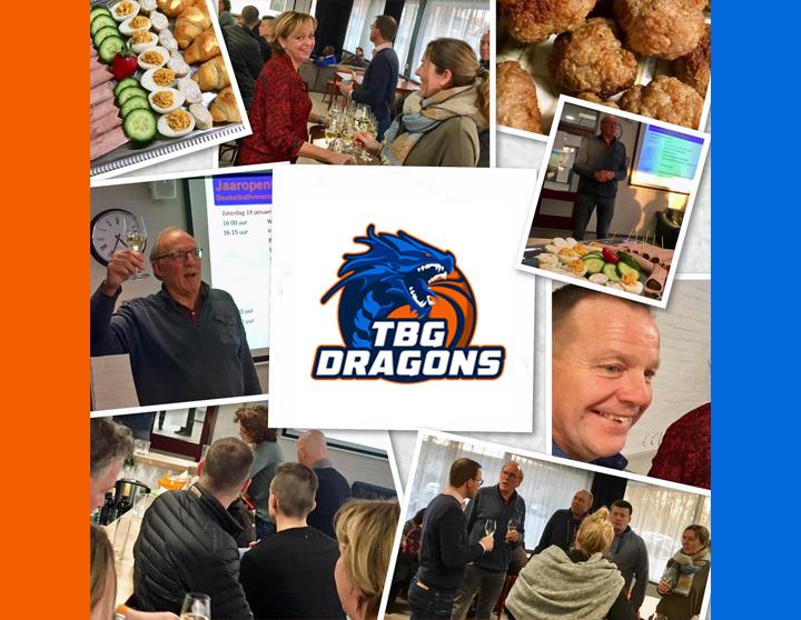 TBG Dragons geslaagde jaaropening