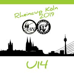 Knappe tweede plaats in Köln voor TBG Dragons U14